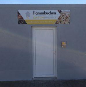 Eingang der Flammkuchen Zentrale Dietzenbach